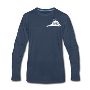 Bluebird Logo - Men's Premium Long Sleeve T-Shirt