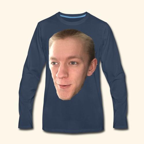 Chaz's Beautiful Face - Men's Premium Long Sleeve T-Shirt