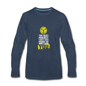 Gymfit - Men's Premium Long Sleeve T-Shirt