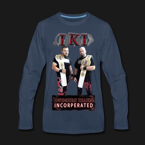 IKI Grunge - Men's Premium Long Sleeve T-Shirt