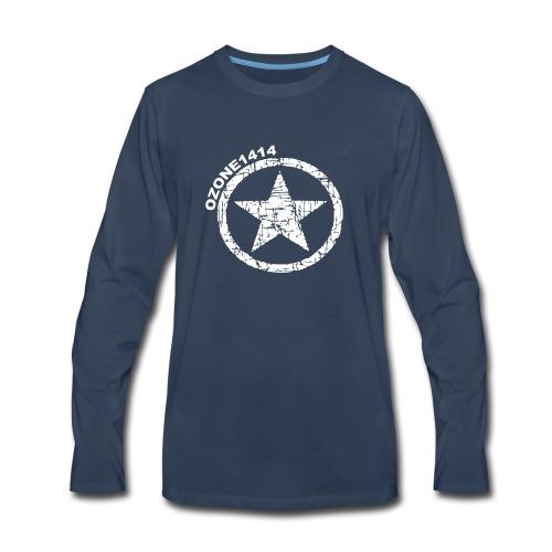 ozonestarwhite - Men's Premium Long Sleeve T-Shirt