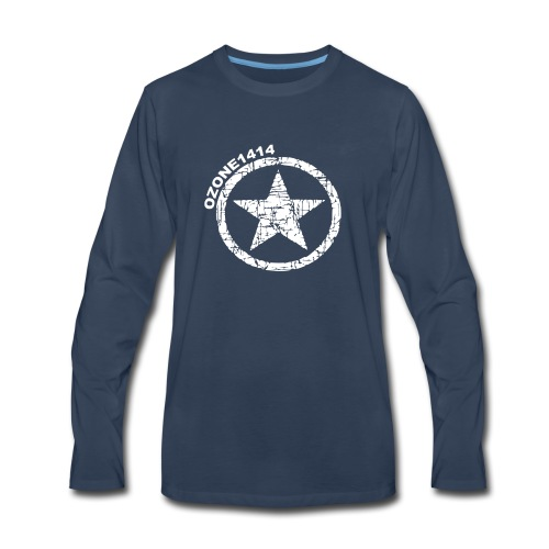 ozonestarwhite - Men's Premium Long Sleeve T-Shirt