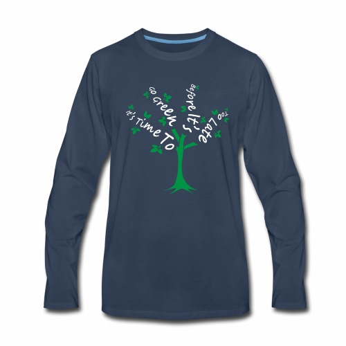 Green Tree - Men's Premium Long Sleeve T-Shirt