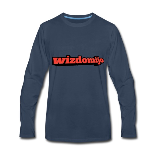 Wizdomijo big sighn - Men's Premium Long Sleeve T-Shirt