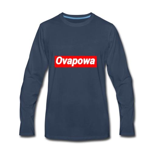 Ovapowa Merch - Men's Premium Long Sleeve T-Shirt