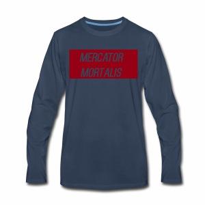 Blood Red Basic - Men's Premium Long Sleeve T-Shirt