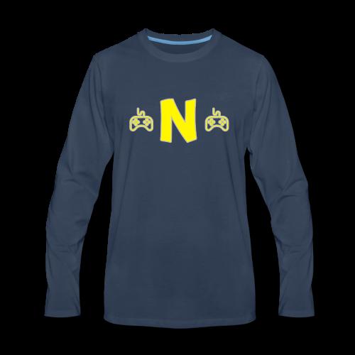 Linha Neon - Men's Premium Long Sleeve T-Shirt