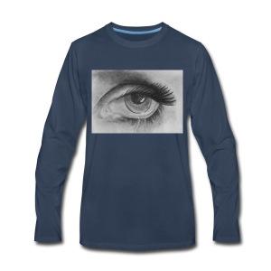 CryingEye - Men's Premium Long Sleeve T-Shirt