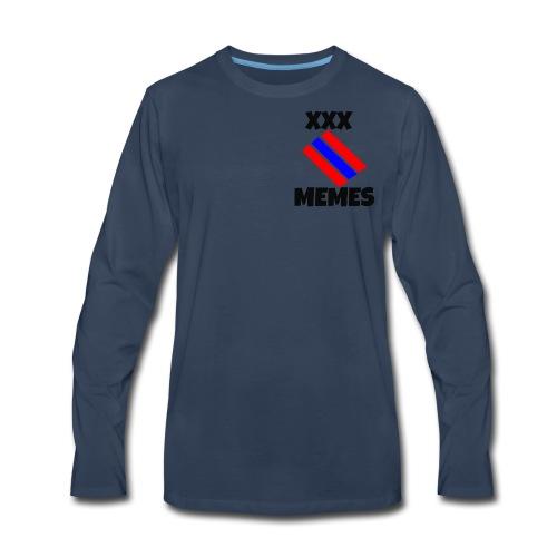 XXX MEMES - Men's Premium Long Sleeve T-Shirt