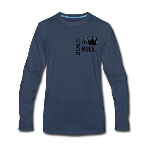 crown image 10 - Men's Premium Long Sleeve T-Shirt