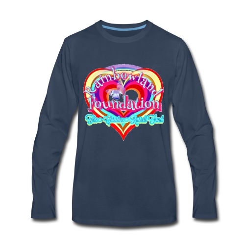 Rainbowland Foundation logo - Men's Premium Long Sleeve T-Shirt