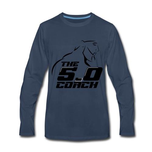 The 5 0 coach logo - Men's Premium Long Sleeve T-Shirt
