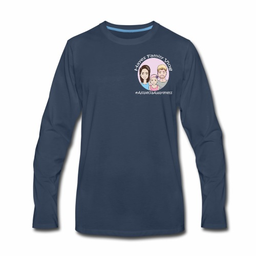 Hayes Family Vlog - Men's Premium Long Sleeve T-Shirt