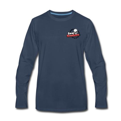 Gear Crushers Logo (png) - Men's Premium Long Sleeve T-Shirt
