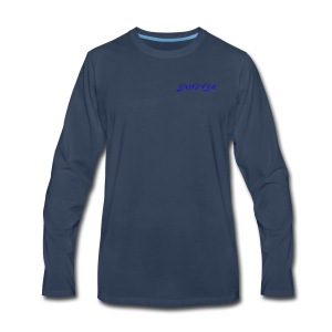 JaNinja Logo - Men's Premium Long Sleeve T-Shirt