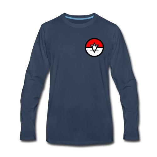 Audio Addiction Poke - Men's Premium Long Sleeve T-Shirt