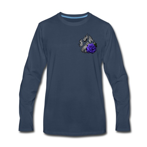 Midnight Gx logo - Men's Premium Long Sleeve T-Shirt