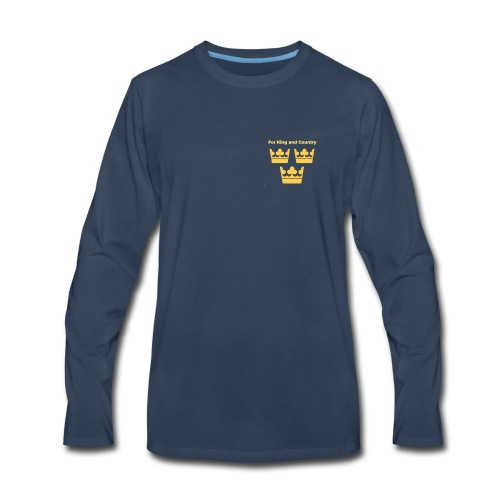 King & Counrty - Men's Premium Long Sleeve T-Shirt