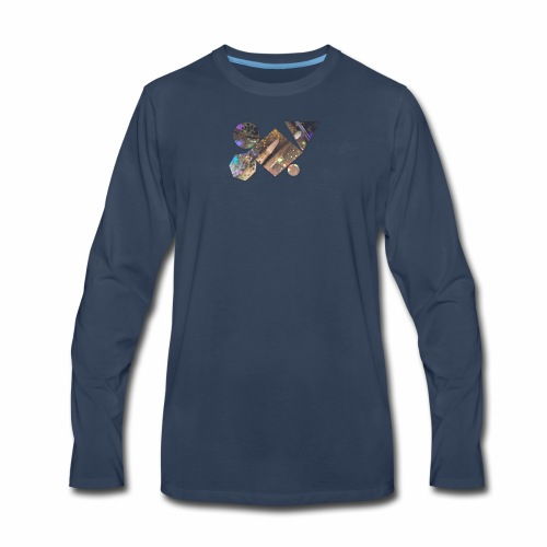 drum shapes - Men's Premium Long Sleeve T-Shirt