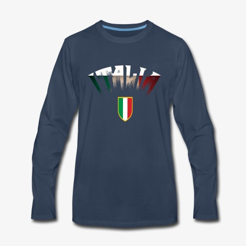 ITALIA design - Men's Premium Long Sleeve T-Shirt