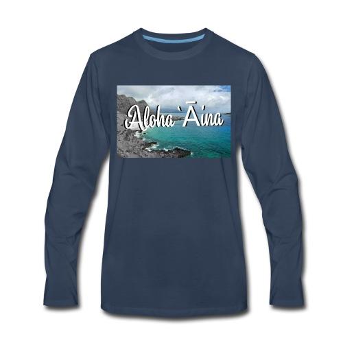 Aloha `Āina - Men's Premium Long Sleeve T-Shirt