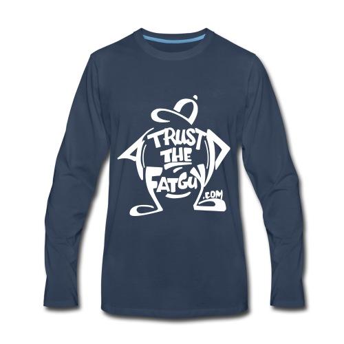 TTFG_White - Men's Premium Long Sleeve T-Shirt