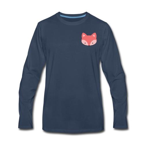 Fox Gift Logo - Men's Premium Long Sleeve T-Shirt