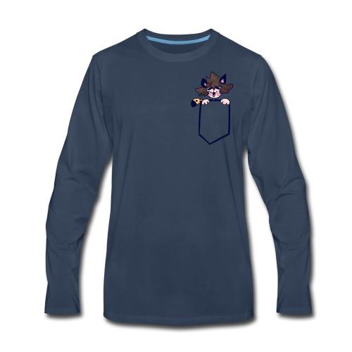 Pocket Edwin - Men's Premium Long Sleeve T-Shirt
