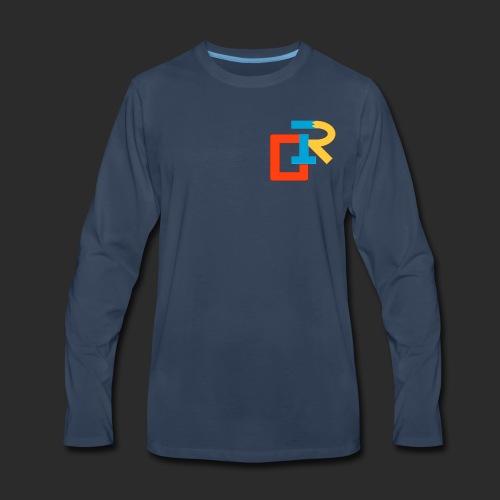 COLORED RIGANG LOGO - Men's Premium Long Sleeve T-Shirt