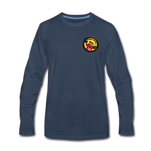 PartyPig Logo - Men's Premium Long Sleeve T-Shirt