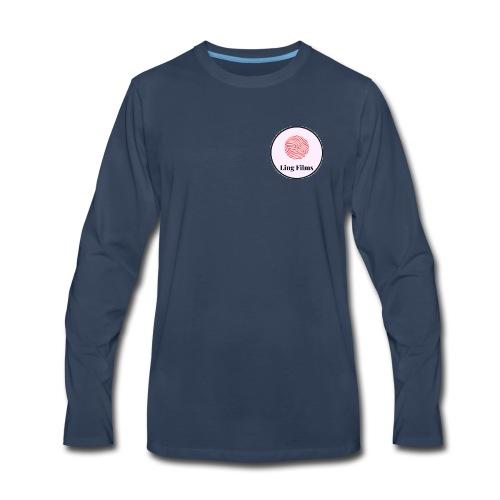 Ling Films Logo - Men's Premium Long Sleeve T-Shirt