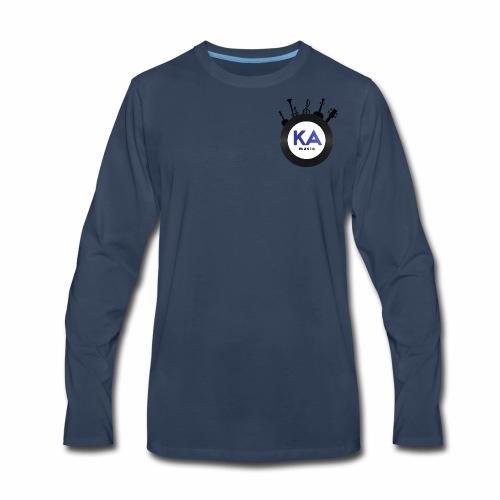 Official KAM Logo - Men's Premium Long Sleeve T-Shirt
