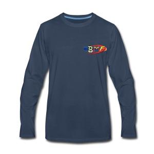 BlasterManFilms Logo - Men's Premium Long Sleeve T-Shirt
