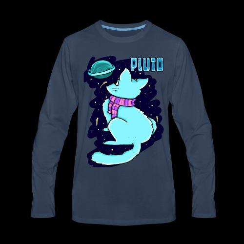 Pluto Kitty - Men's Premium Long Sleeve T-Shirt
