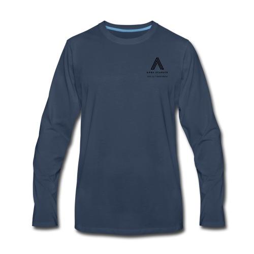 the black out logo - Men's Premium Long Sleeve T-Shirt