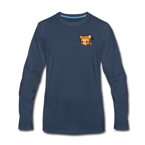 Blehhhh Cheetah Kawaii - Men's Premium Long Sleeve T-Shirt