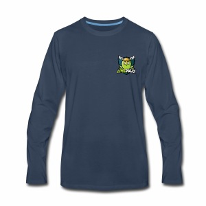 Limepally's Logo - Men's Premium Long Sleeve T-Shirt