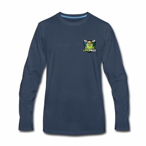Limepally's Logo - Men's Premium Long Sleeve T-Shirt