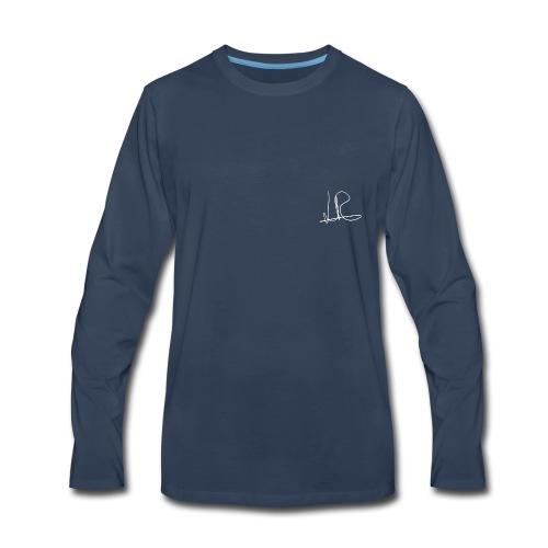 LiamRusso handtekening Logo - Men's Premium Long Sleeve T-Shirt