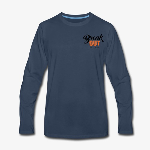 Break OUT - Men's Premium Long Sleeve T-Shirt