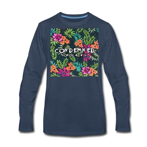 Floral Pattern - Men's Premium Long Sleeve T-Shirt
