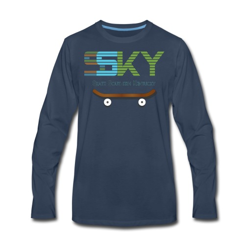 SSKY board logo - Men's Premium Long Sleeve T-Shirt