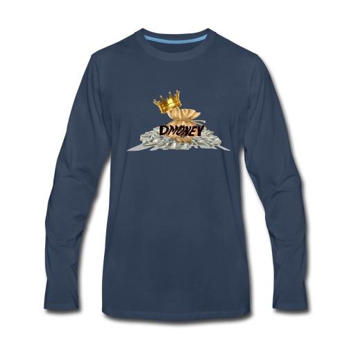 DAJUAN NEW LOGO 15 - Men's Premium Long Sleeve T-Shirt