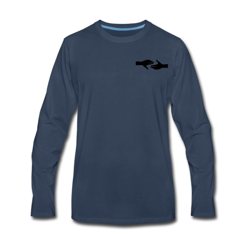 Helping Hands - Men's Premium Long Sleeve T-Shirt