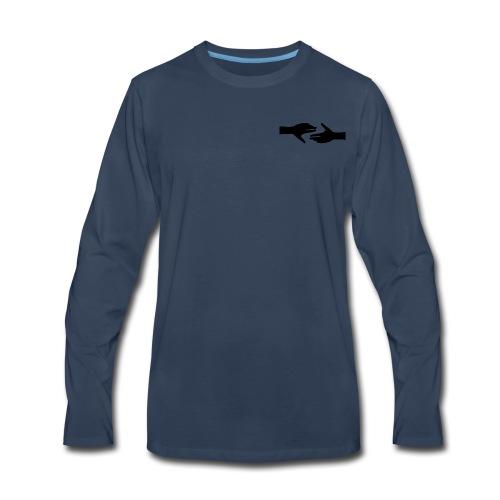 Helping Hands - Men's Premium Long Sleeve T-Shirt