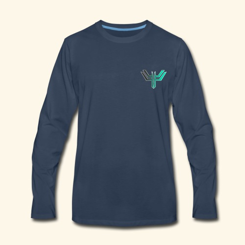 iL Era Tiny Logo - Men's Premium Long Sleeve T-Shirt