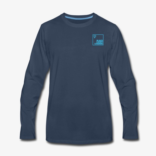 Black luckycharms - Men's Premium Long Sleeve T-Shirt