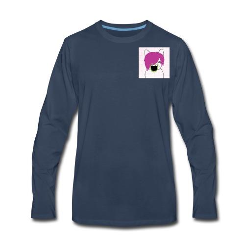 Pop Star Pug - Men's Premium Long Sleeve T-Shirt