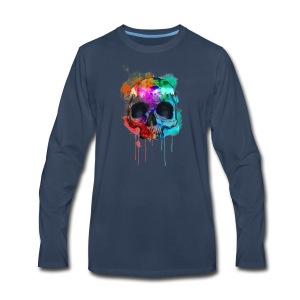 Death Art - Men's Premium Long Sleeve T-Shirt