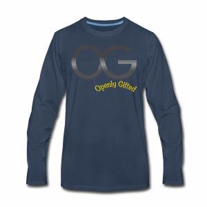 OG Openly Gifted! - Men's Premium Long Sleeve T-Shirt